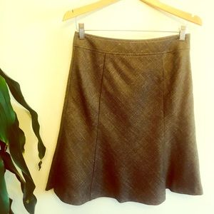 Ann Taylor Wool A Line Skirt